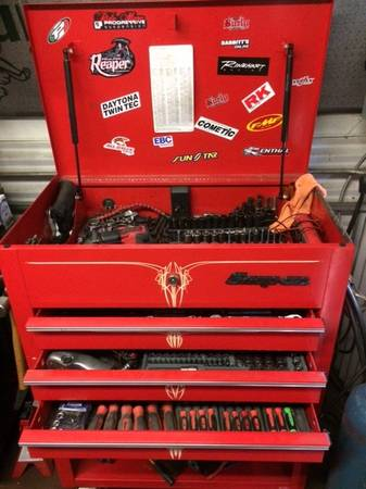 Photo Snap-on roll cart toolbox - $800 (Roanoke City)