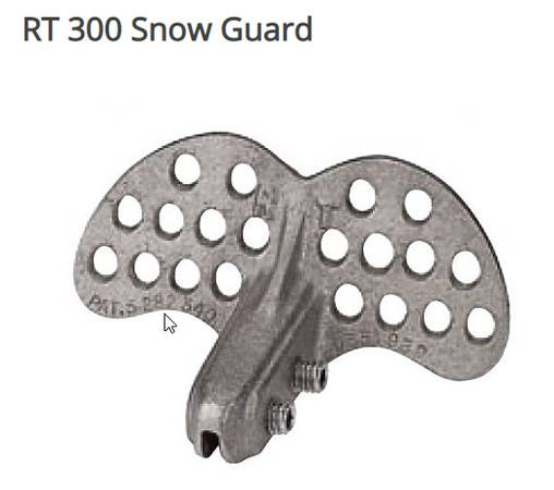 Photo Snow guards for Standing seam metal roof - $300 (Roanoke)