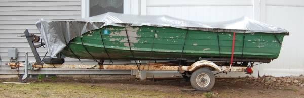 Photo 14 ft Starcraft Aluminum Boat - $750 (Pittsford)