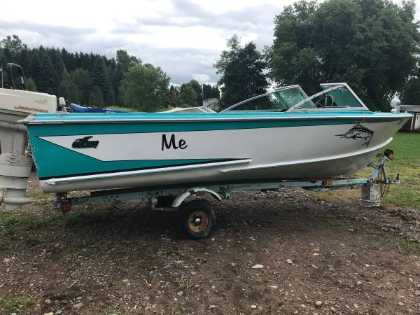 Photo 1966 Duratec Galaxie Aluminum Boat and 1978 Holsc Trailer - $1,900 (Webster)
