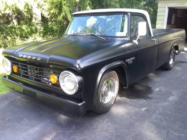 Photo 1967 Dodge D100 street rod - $11,500 (Rochester)
