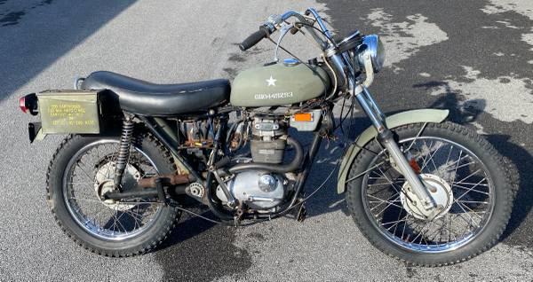 Photo 1971 Triumph T25 T25T Trailblazer 250 Motorcycle - $1,100 (Syracuse, NY)