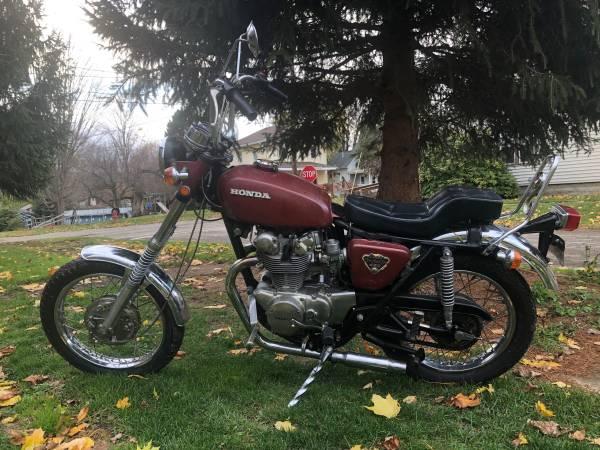 Photo 1972 Honda CB450 Chopper - $1,800 (Wayland NY)
