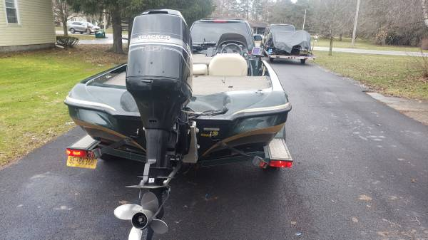 Photo 2000 nitro bass boat - $5600 (Honeoye falls)