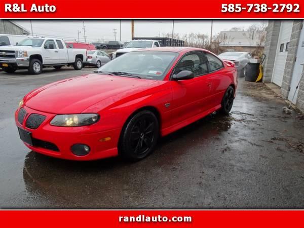 Photo 2004 Pontiac GTO Coupe - $7000 (Spencerport, NY 14559)