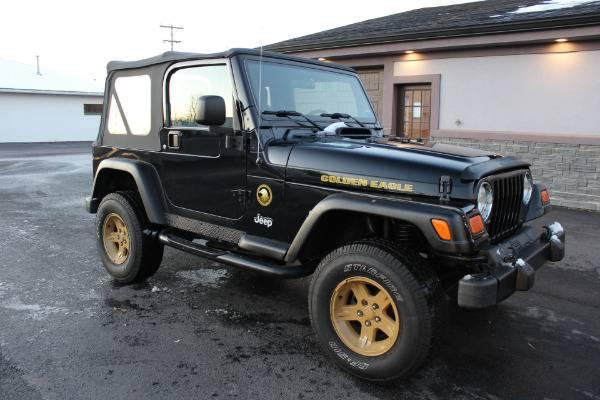 Photo 2006 Jeep Wrangler GOLDEN EAGLE EDITION Stock 1527 - $16,855