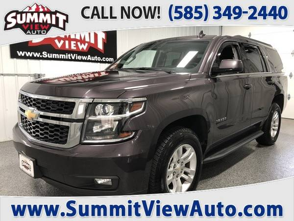 Photo 2016 CHEVY Tahoe LT  Full Size SUV  4WD  3rd Row  Clean Carfax ... - $33,995 (Financing at www.SummitViewAuto.com  716-288-5223)