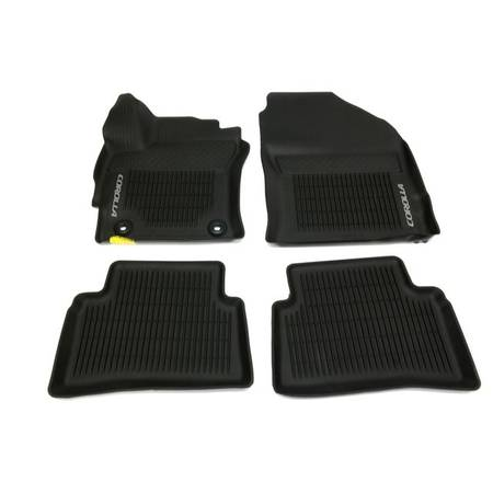 Photo 2019-2021 Genuine Toyota Corolla All-Weather Floor Mat Set - $50 (Webster, NY)