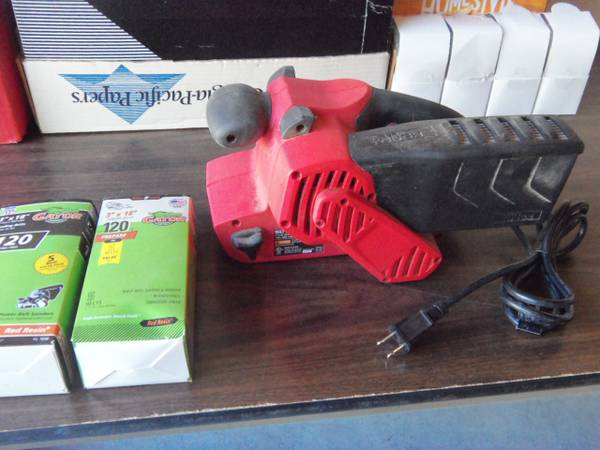 Photo Belt Sander quotHyper toughquotlike new used 1-time,3x18 - $25 (Ontario,Ny)