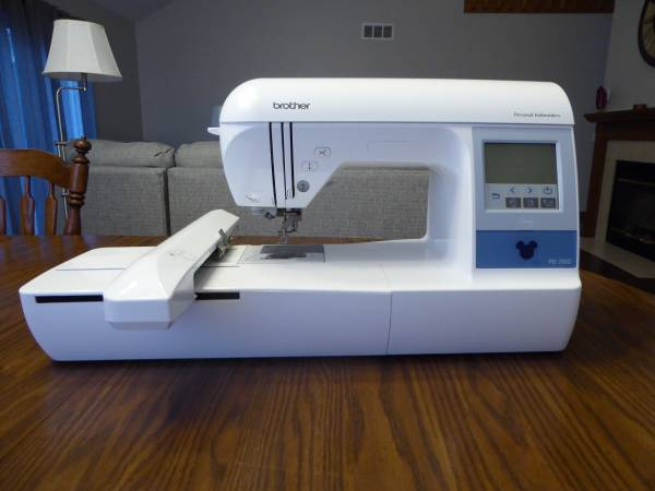 Photo Brother PE-780D Disney 5quot x 7quot Embroidery Machine - $500 (Fairport)