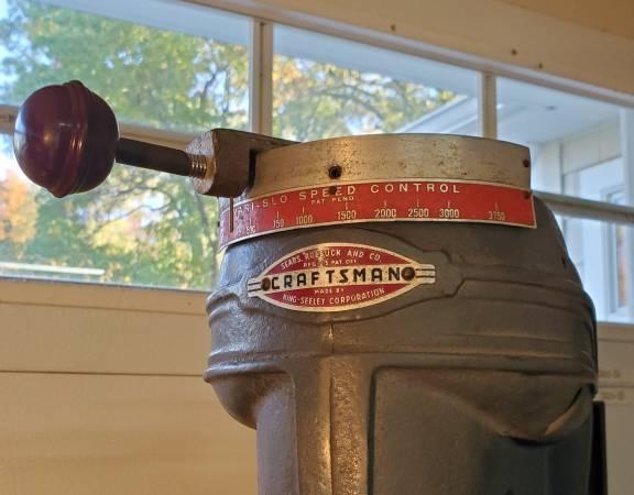 Photo Drill Press, 15quot Craftsman, Vari-Slo Speed Control  Table Lift - $400 (rochester)