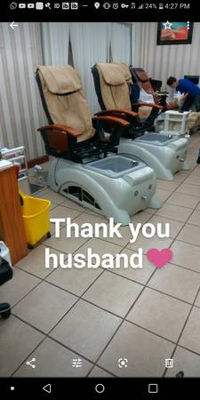 Photo Fully working pedicure chair $400 - $400 (Rochester)