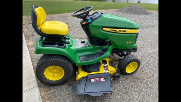 Photo JOHN DEERE X 360 48 inch cut with Snowblower - $4,000 (Naples)