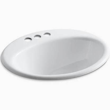 Photo Kohler White Farmington Bathroom Sink NewInBox REDUCED $55 OBO - $55 (South Wedge)