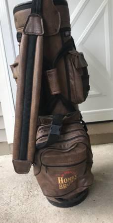Photo Leather Golf Bag - - $40 (Irondequoit)