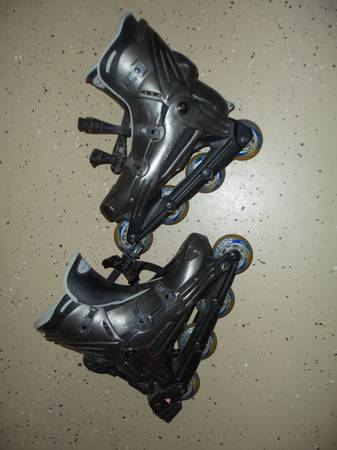 Photo Mens Roller Blades Size 11 - $40 (Rochester)