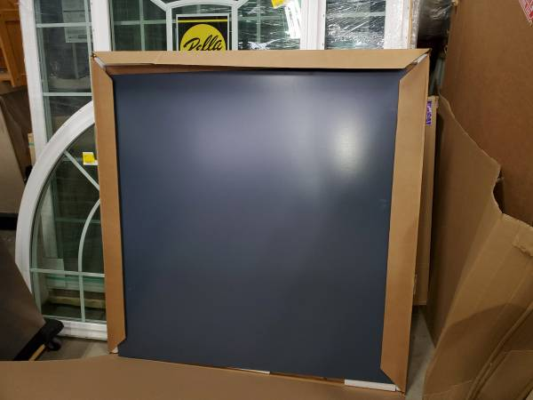 Photo Midnight Suede Blue maple cabinet board 48 x 48 NEW - make an offer - $40 (Hilton)