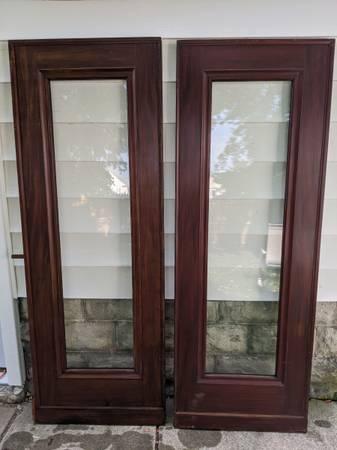 Photo Old french door set doors measures 30x83 each - $250 (Batavia)