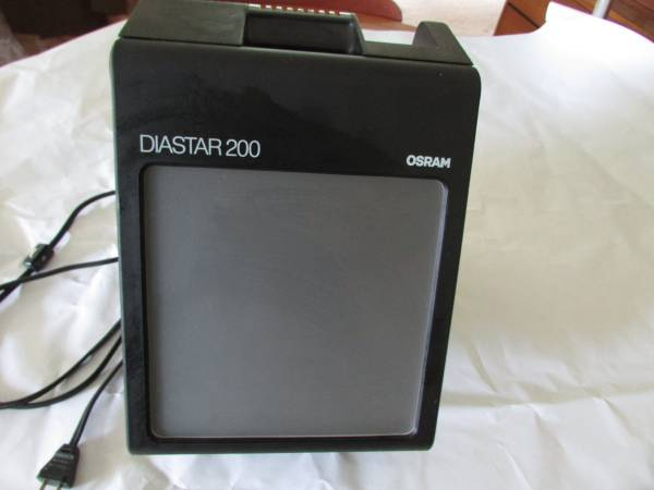Photo Osram Diastar 200 Slide Viewer - $20 (West Irondequoit)