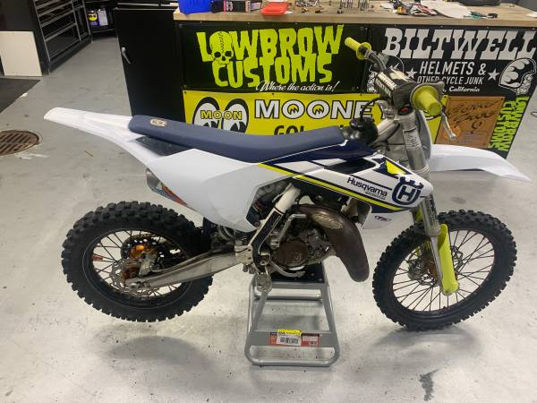 Photo REDUCED 2018 Husqvarna TC112 Big Bore Big Wheel - $3,900 (Buffalo)