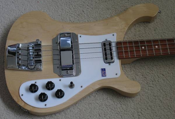 Photo Rickenbacker 4001 C64 Bass - $3500 (Rochester, New York)