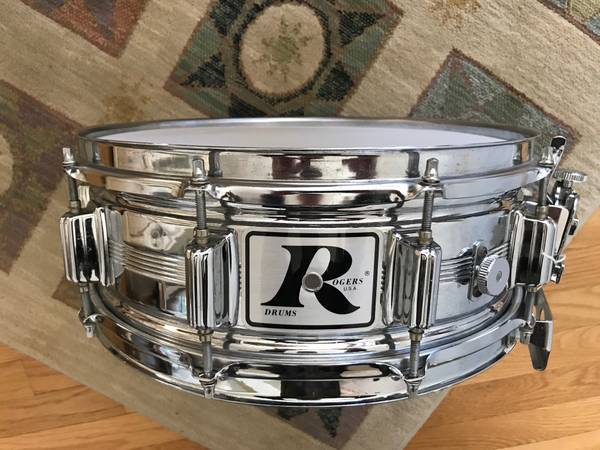 Photo Rogers Vintage Dynasonic Snare Drum - $300