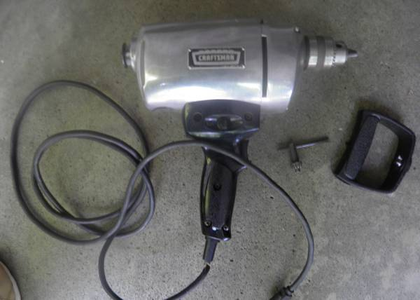Photo Vintage Craftsman 12quot Electric Drill - $7 (Webster)