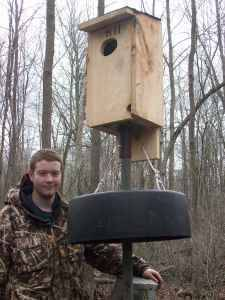 Photo Wood Duck Nesting Boxes, Free delivery - $50 (WesternCentralNorthern NY)