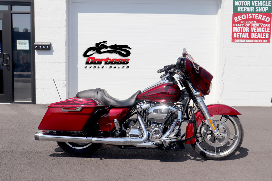 Photo 2017 Harley-Davidson FLHXS Street Glide Special - Hard Candy Hot Rod Red $22999