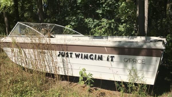 Photo boat for FREE (Williamson, NY)
