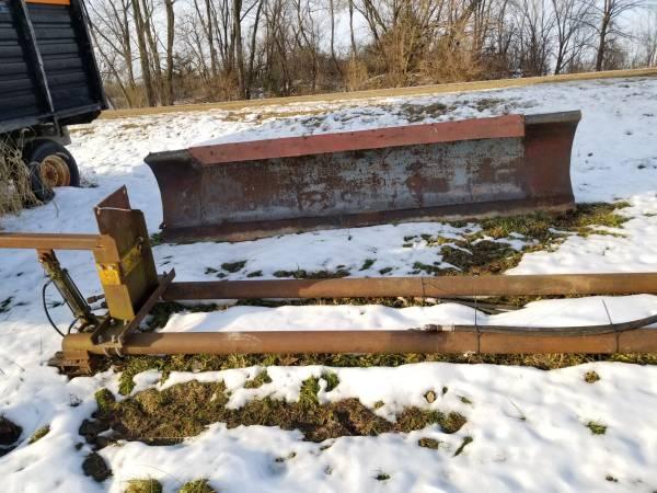 Photo 10 ft. Snow Plow  Frame for John Deere Tractor - $750