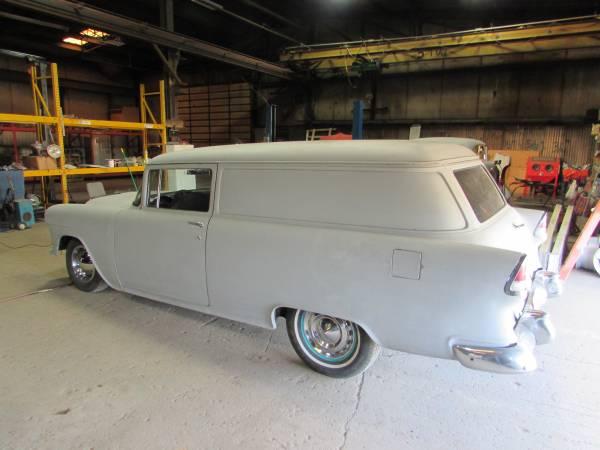 Photo 1955 chevy sedan delivery - $13500 (rochelle il)