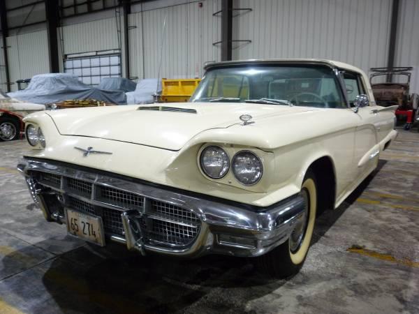 Photo 1960 Ford Thunderbird - $19,500 (Woodstock)