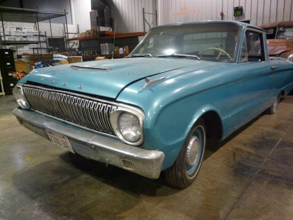 Photo 1962 Ford Ranchero - $12,800 (Woodstock)