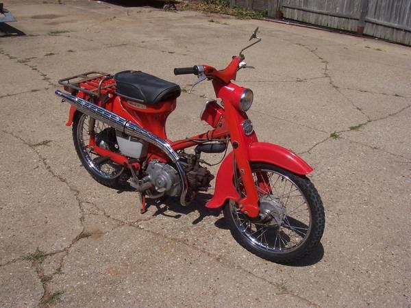 Photo 1965 Honda 55 Trail Motorcycle - $1,000 (Winnebago)