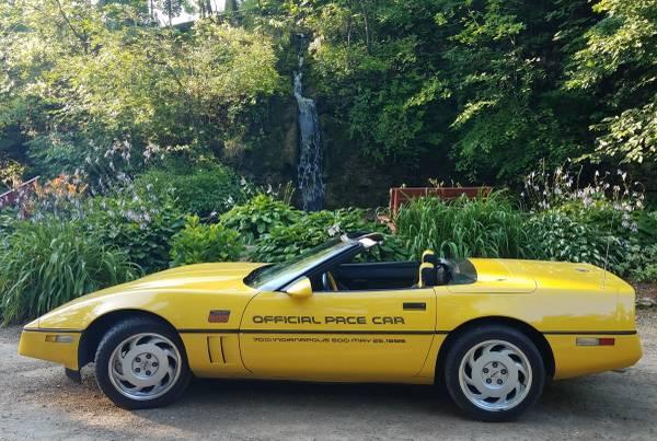 Photo 1986 Chevy Corvette Convertible Pace Car - $7,000 (Lena)