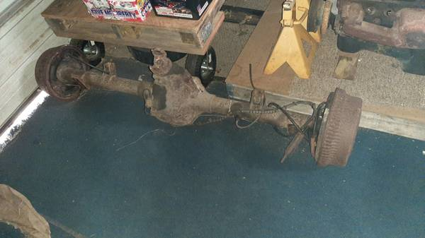 Photo 199639 Dodge Ram B2500 Van Rear Axle - $200 (Davis Junction)