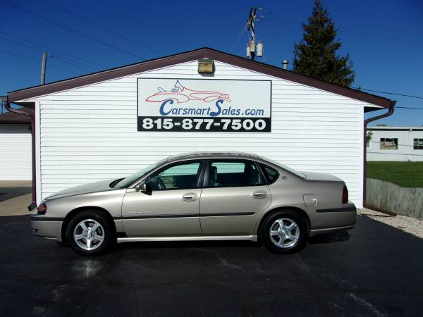 Photo 2003 Chevy Impala 4DR LS - reliable 3.8 motor - LOW MILES - one owner - $3,795 (Loves Park - (CARSMARTSALES.COM))