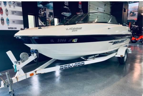 Photo 2003 Sea Doo Utopia 205 Jet Boat - $13,500 (Rockford)