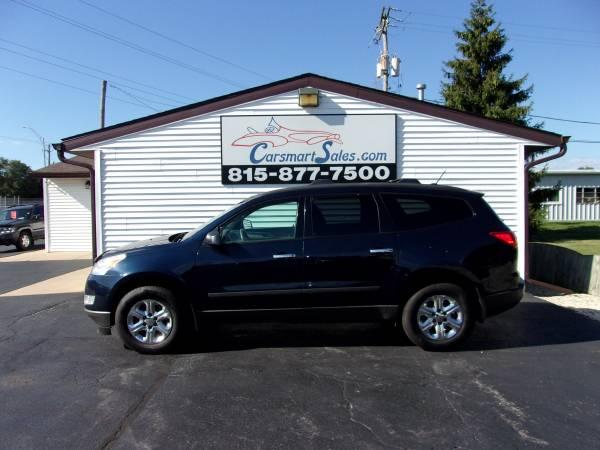 Photo 2011 Chevy Traverse 4DR LS 2WD - dark blue BEAUTY - 3rd row - CLEAN - $5,795 (Loves Park - (CARSMARTSALES.COM))