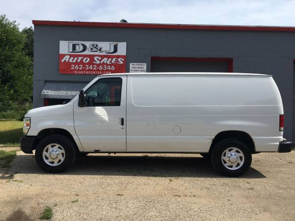 Photo 2013 Ford E-350 Cargo Van $8950.00 - $8950 (JANESVILLE)