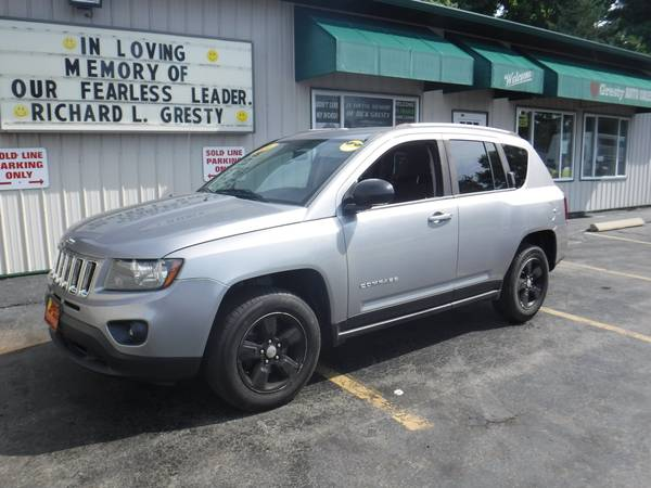 Photo 2014 JEEP COMPASS CLEAN READY TO GO ANYWHERE - $7995 (GRESTY AUTO SALES)