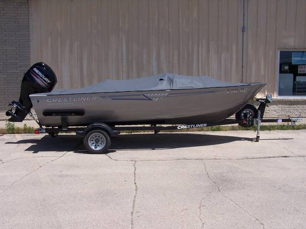 Photo 2017 Crestliner 1650 Discovery Side Console - $12,925 (Rockford)