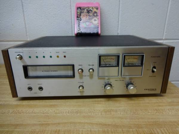 Photo 8-track tape player, Centrex by Pioneer RH-60 - $99 (Rockford)