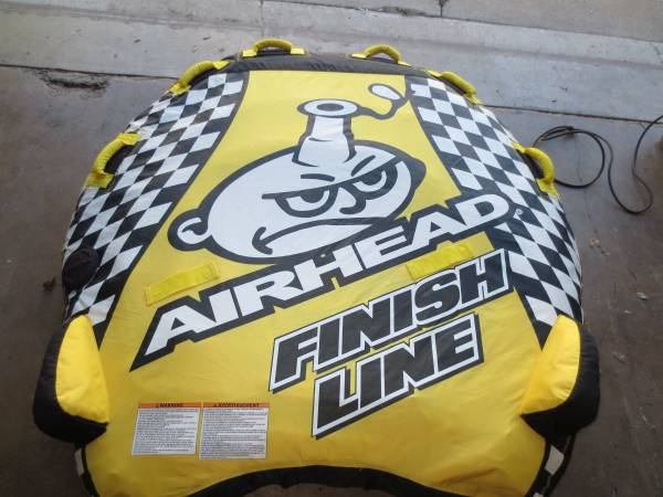 Photo Airhead Finish Line Towable Boat Tube - $25 (Dekalb IL)