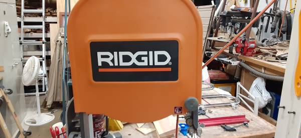 Photo Bandsaw 14 inch Ridgid w Kreg Fence - $350 (Rockford)