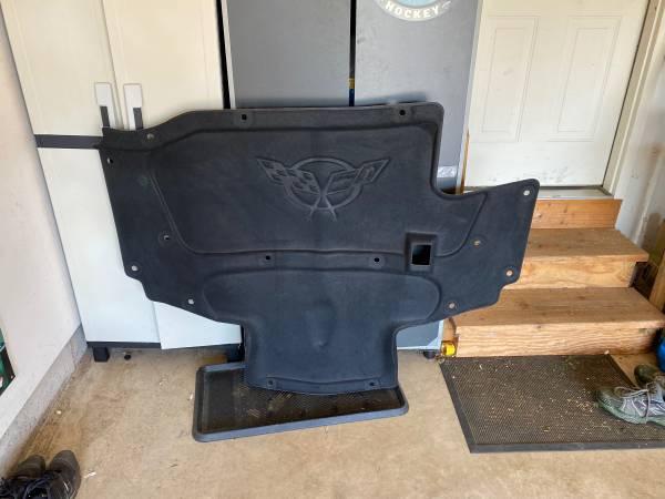 Photo C5 Corvette Hood Insulator - $50 (Sycamore)