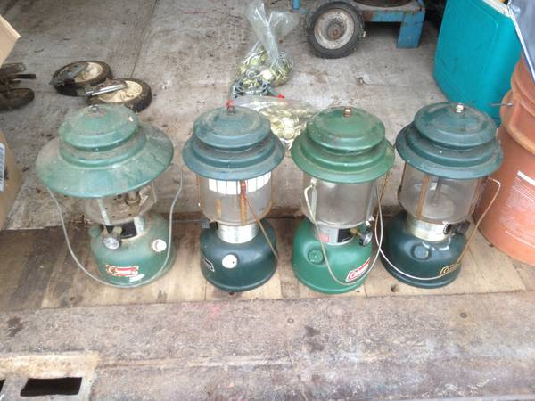 Photo Coleman Lantern Model 228H And Model 290 - $20 (Belvidere)