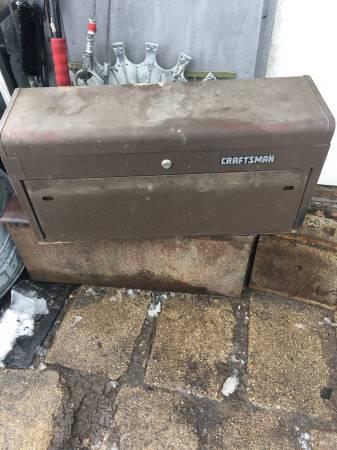 Photo Craftsman Machinist Tool Box Similar To Kennedy - $75 (Belvidere)