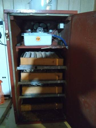 Photo G. Q. F. Incubator - $400 (Freeport)
